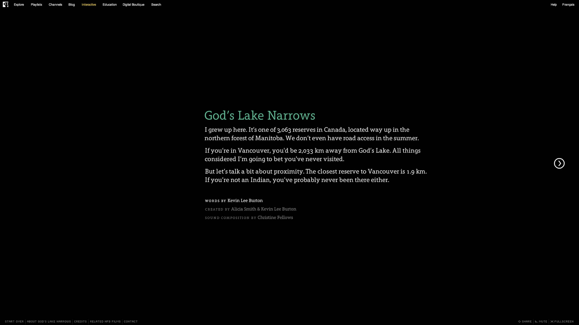 God's Lake Narrows - Introduction