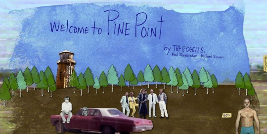 Welcome to Pine Point - Start Screen